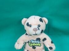 CHOCOLATE TEDDY GRAHAMS CEREAL PLUSH STUFFED ANIMAL ADVO TOY BEAR CHUNK POLKADOT