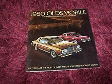 Catalogue / Brochure OLDSMOBILE Cutlass / Omega / Starfire 1980  USA //
