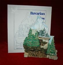 GOEBEL-OLSZEWSKI Bavarian Alps #993-D Rare Adorable Miniature Bavarian Village