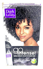 SoftSheen Carson Dark and Lovely Go Intense Hair Color Creme 1 Super Black
