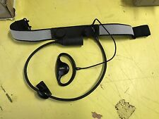 EX MOD Sonic Communications Earpiece/Throat Microphone New