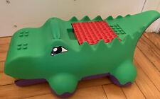 Lego Duplo Block-o-Dile Alligator Vacuum Sweeper Storage Crocodile Dinosaur