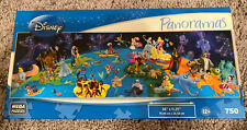 World Of Disney Panoramas 750 Piece Jigsaw Puzzle Complete. Never Opened.