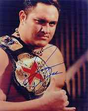 SAMOA JOE TNA WWE SIGNED AUTOGRAPH 8X10 PHOTO W/ PROOF
