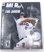 MLB 07 The Show PS3 Playstation 3 Game Complete In Box (Sony 2007) Baseball