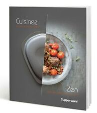 Livre de recettes Cuisinez Zen Ultra pro 2 l et 3,5 l ***TUPPERWARE ***neuf