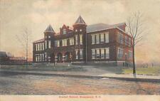 GRADED SCHOOL GREENWOOD SOUTH CAROLINA POSTCARD (c. 1908)**