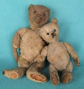 Pair of Antique Teddy Bears Steiff Other