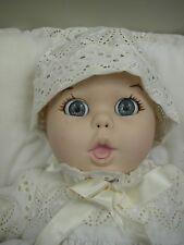 Porcelain Gerber Baby W/Flirty Eyes W/Original Box & Tag by Atlanta Novelty 1981
