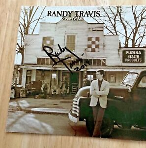 RANDY TRAVIS Autographed Signed CD Cover ~ Storms Of Life