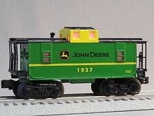 LIONEL JOHN DEERE ILLUMINATED CABOOSE O GAUGE train runs like a deer 6-83286 NEW