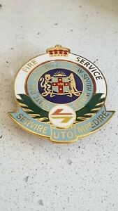 Fire Service State Rail Authority  of New South Wales Badge