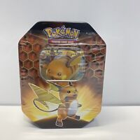 Pokemon TCG Hidden Fates Raichu GX Tin Factory Sealed