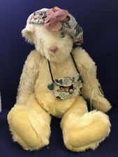 "The Vermont Teddy Bear Company Limited 854/1000 Mohair 1994 24"" WS29 Kathleen"