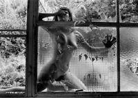 """Photographie, """"Nu aux verres brisés"""", 1993  /  Hommage à L.Clergue    /  15 x 20"""