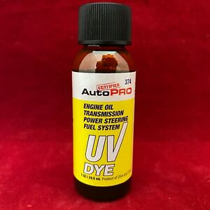 AutoPro Engine Oil Transmission Power Steering Fuel System UV Dye Leak Detector