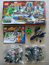 LEGO Super Heroes - Rare Hulk's Helicarrier Breakout 6868 - Mostly New & Sealed