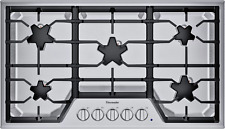 New listing Thermador Masterpiece® Sgs365T 36-Inch Star® Burner Gas Cooktop Stainless Steel