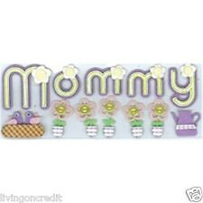 Jolee's Boutique Stickers - MOMMY 12 Pieces Per Pack