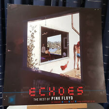 Pink Floyd - Echoes - Promo Flat / Poster / Shop display - Double Sided
