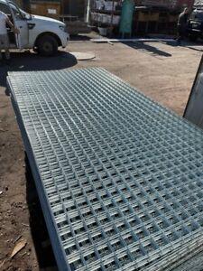 BRAND NEW STEEL MESH 1200 x 2400 mm GALVINISED [25 x 25] & [50 x 50] $35 each 10