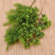 1pc Artificial Plastic Cypress Tree Fake Green Plant Leaf Home Decor Christmas
