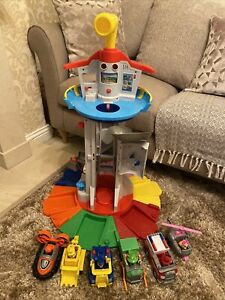 Paw Patrol My Size Lookout Tower Playset 6 Figures 6 Vehicles Bundle (3)