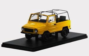 DIECAST MODEL CAR LUAZ-969M 1979 Hachette Legendary cars of USSR 1/24