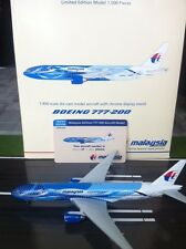 MALAYSIA AIRLINES B777 REG 9M-MRD 'FREEDOM OF SPACE'  GEMINI JETS  1:400 SCALE