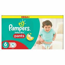 Pampers Baby Dry Size 6 XL MEGA PACK 108 Pull Up PANTS for 15+ g Disposable