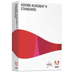 Full version Adobe Acrobat 9 Standard For Windows PC With Serial Number.