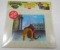 TMNT Production Cels Animation Art Shredder April 1991 Ninja Turtles MINT COA