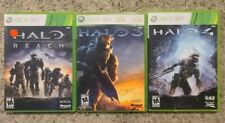 HALO Xbox 360 3 game Lot - Halo 3, Halo 4, Halo Reach - Tested & Working!