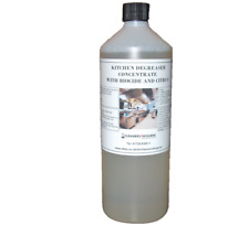 More details for 1l stainless steel deep fat fryer floor cooker cleaner degreaser concentrated