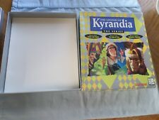 THE LEGEND OF KYRANDIA - THE SERIES - (PC) - GAME BOX ONLY - NO GAMES OR MANUALS