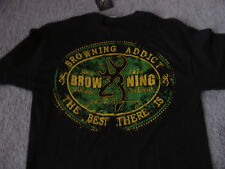 Browning Fire Arms Medium Tee Shirt *New with Tags*