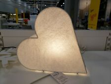 "IKEA STRALA 12"" Heart White Paper Lamp Light Valentine's Day Christmas"