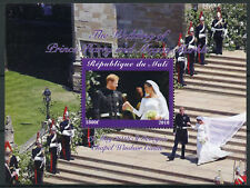 Mali 2018 CTO Prince Harry & Meghan Royal Wedding 1v M/S Royalty Stamps