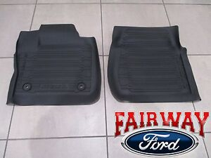 Ford Car And Truck Floor Mats And Carpets 2 Pieces For Sale Ebay