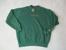 NEW VINTAGE Nike Miami Hurricanes Sweater Adult Extra Large Green Football 90s Y