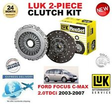 pour FORD FOCUS C MAX KIT EMBRAYAGE 2.0 TDCI 2003-2007 136 BHP NEUF LuK 2 pièces