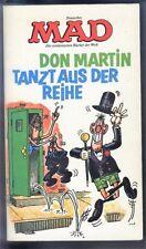 MAD Taschenbuch Nr.11 von 1976 Don Martin - TOP Z0-1 wie NEU!!! Satire Comic