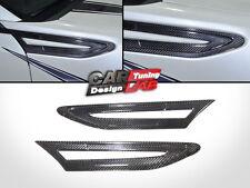 Carbon Fiber Side Vents Grill Grille Fender flow Garnish Cover Fits Subaru BRZ