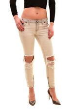 One Teaspoon Women's Ice Grey Freebirds Jeans 26 Grey RRP$140 BCF712