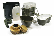 BIG SET SWEDISH TRANGIA MILITARY ARMY FUEL STOVE CUP MUG POLISH MESS KIT CANTEEN