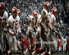 Late 1960's Cfl Calgary Stampeders O Line Color 8 X 10 Photo Picture Free Ship