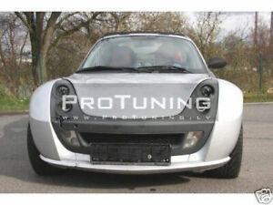Front Sport splitter for Smart Roadster 2003-2006