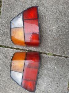 Genuine VW/HELLA Golf Mk2 Rear lights(Tail) pair