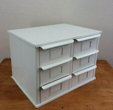 Metal 6 Bin Storage Industrial Drawer Cabinet Desktop Craft Supplies Small Parts