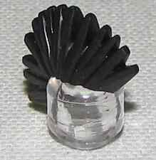 LEGO NEW BLACK MOHAWK HAIR MINIFIGURE SPIKED WIG PIECE